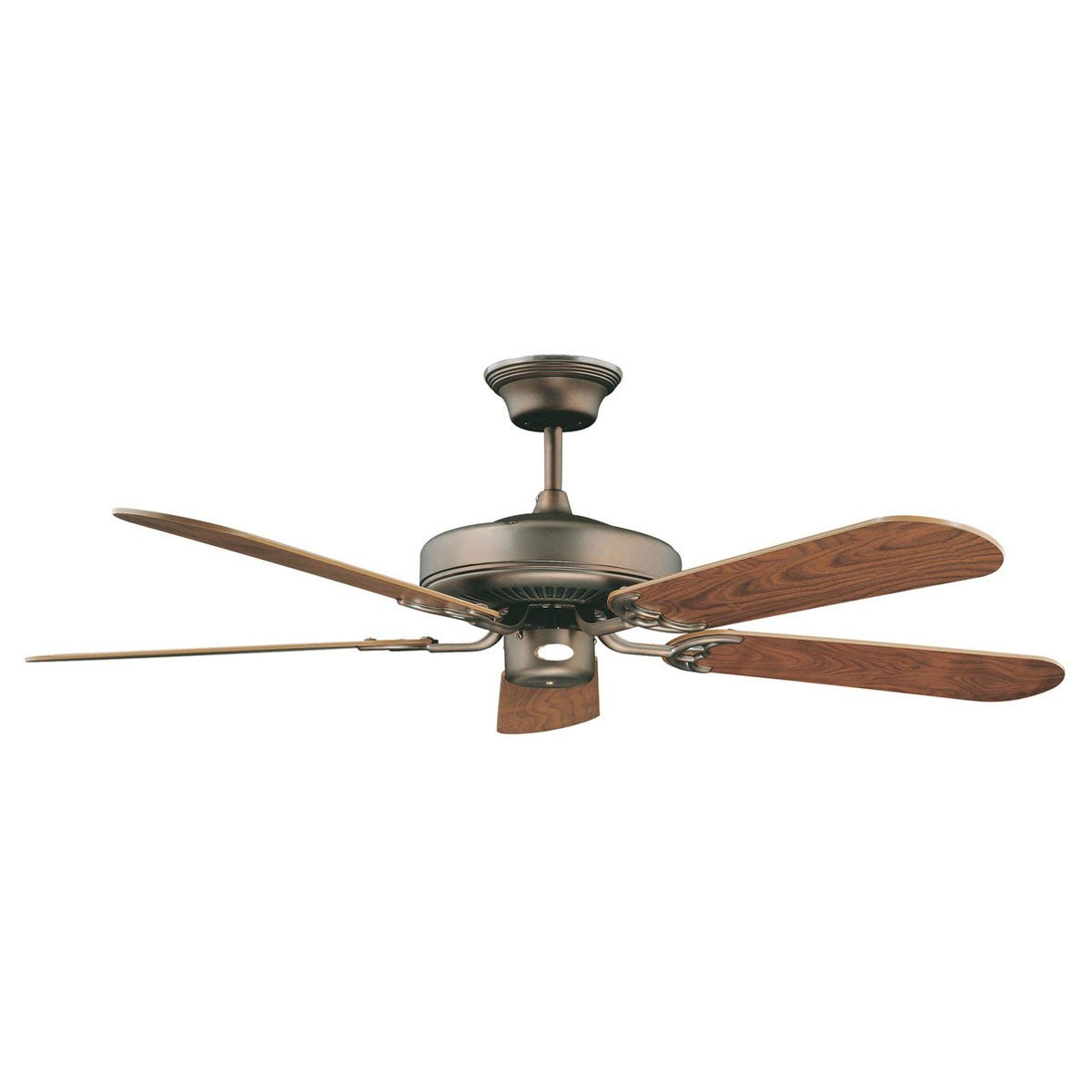 "Concord Fans Decorama Energy Saver Modern 52"" Oil Brushed Brass Ceiling Fan"