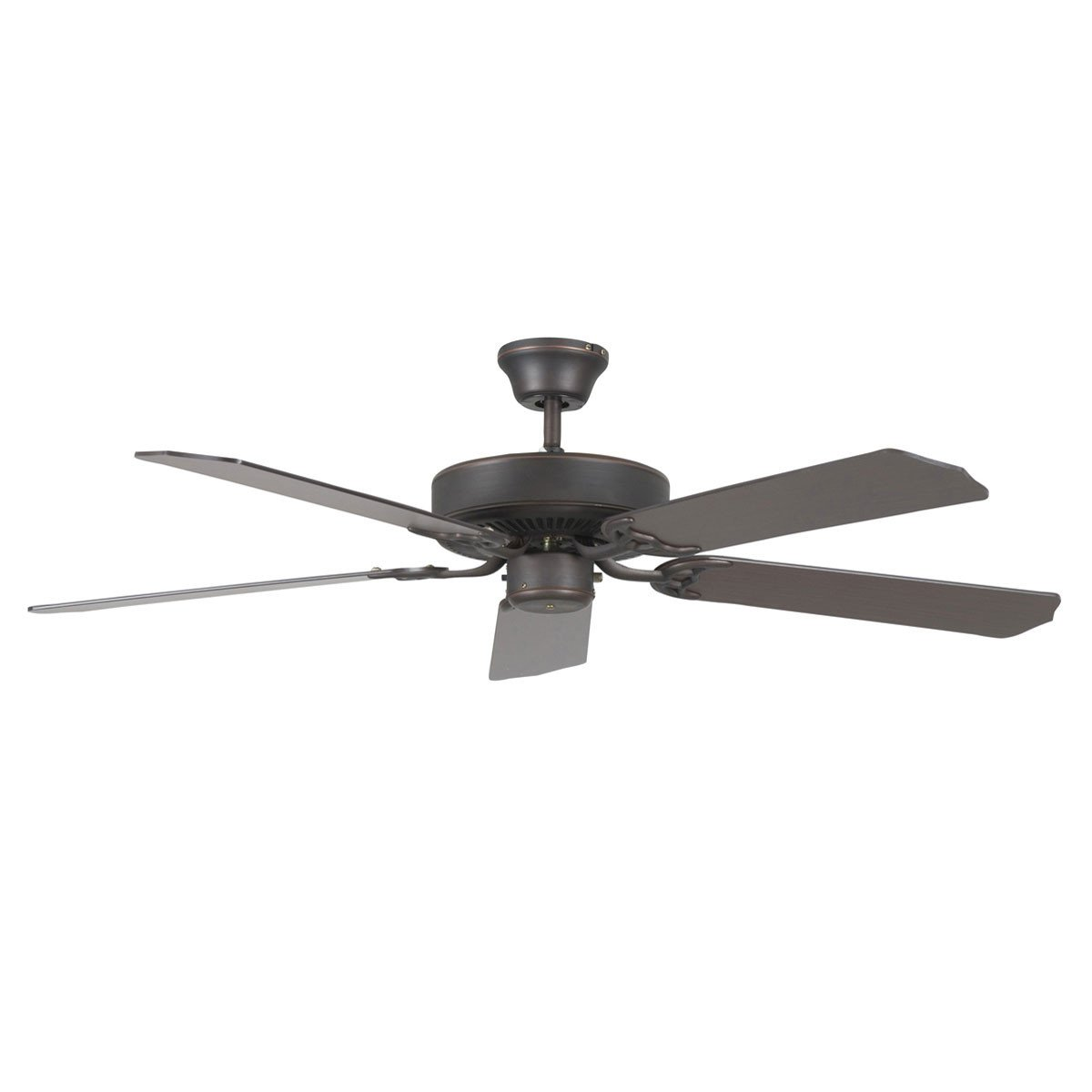 "Concord Fans 52"" Heritage Oil Rubbed Bronze Simple Attractive Ceiling Fan"