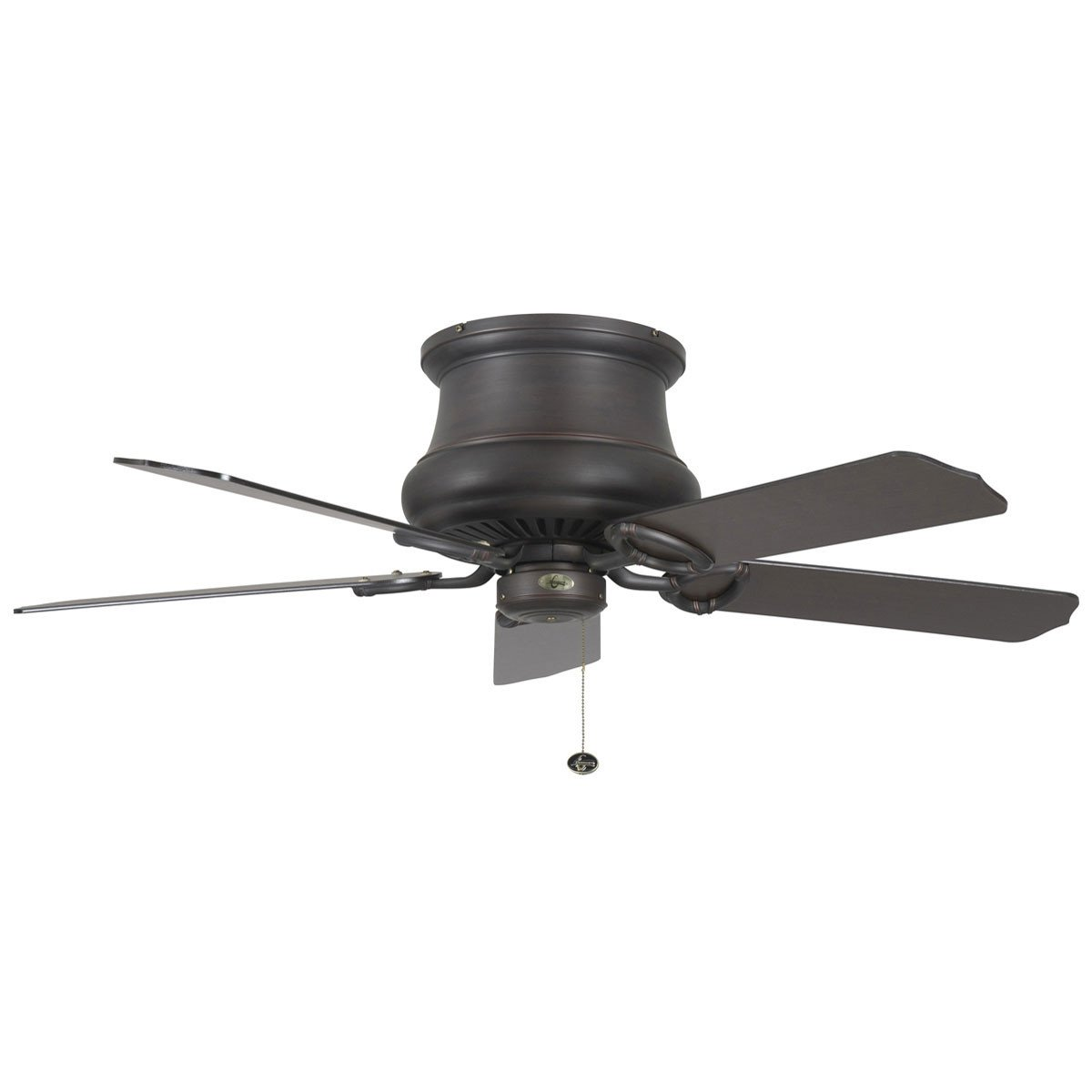 "Concord Fans 52"" Madison Hugger Low Profile Oil Rubbed Bronze Ceiling Fan"
