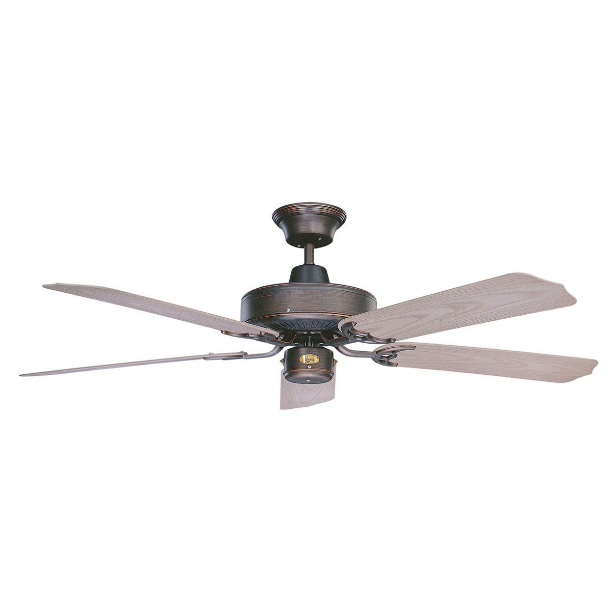 "Concord Fans 52"" Wet Location Outdoor Oil Rubbed Bronze Energy Saver Ceiling Fan"
