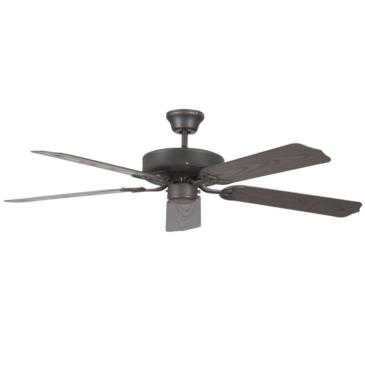 "Concord Fans 52"" Oil Rubbed Bronze Porch Outdoor Ceiling Fan"