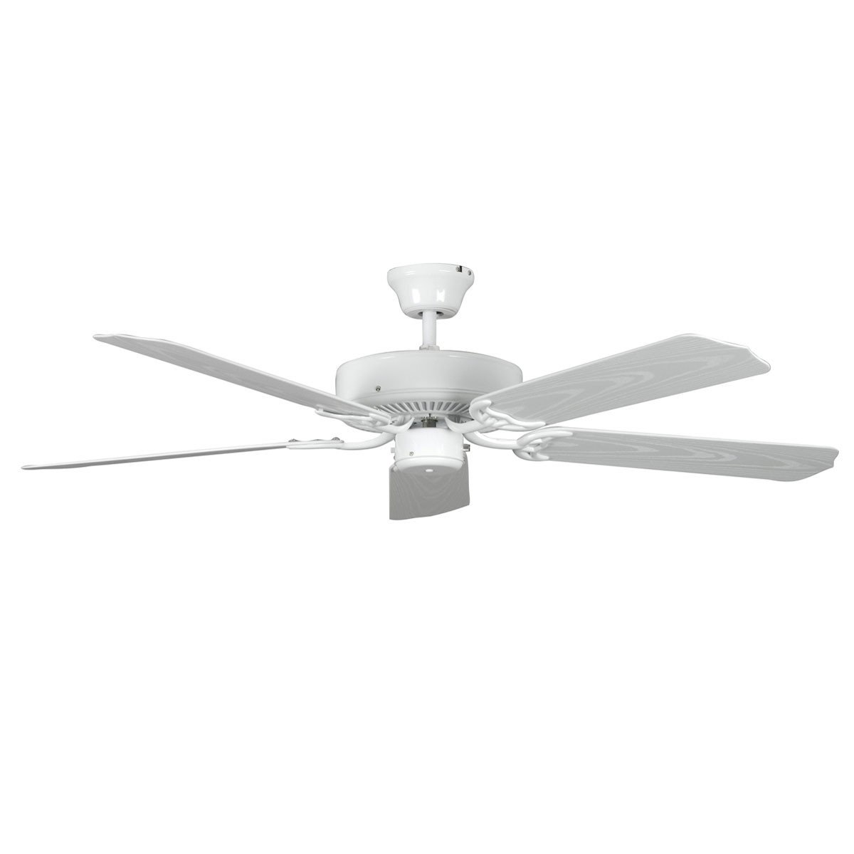 "Concord Fans 52"" White Porch Outdoor Ceiling Fan"