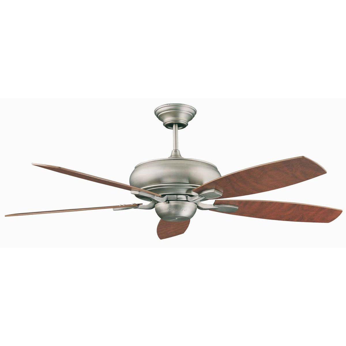 "Concord Fans Contemporary 52"" Roosevelt Satin Nickel Ceiling Fan"