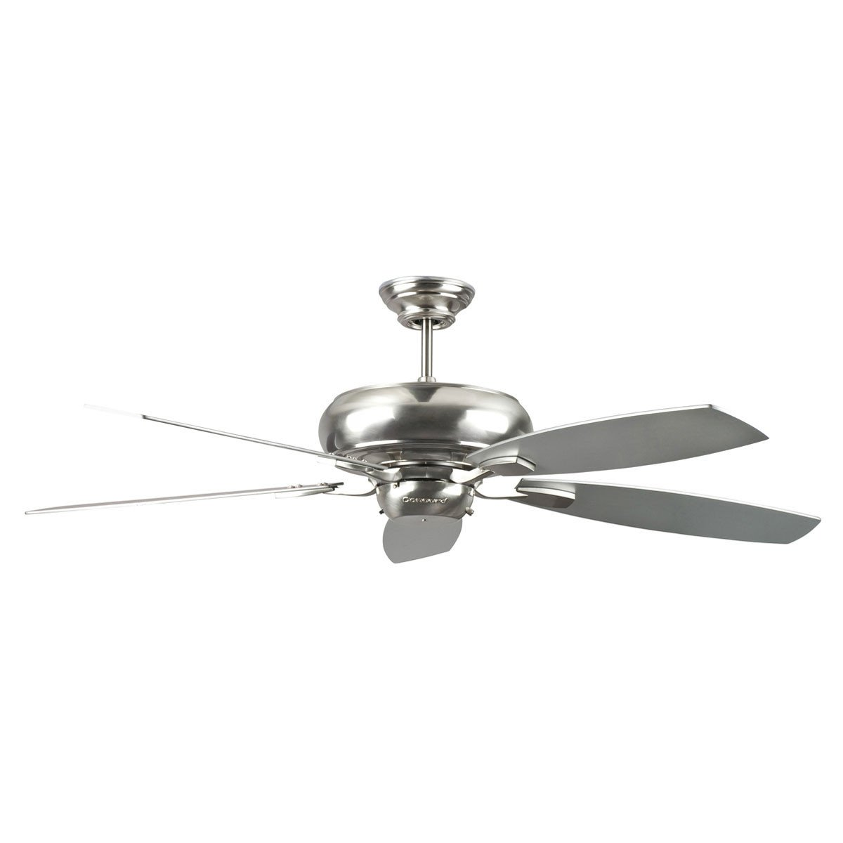 "Concord Fans Contemporary 52"" Roosevelt Stainless Steel Ceiling Fan"