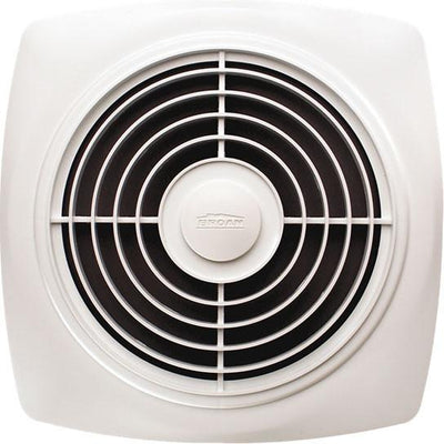 "Broan 505 Powerful 180 CFM 8"" Square Vertical Discharge Ceiling Ventilation Fan"