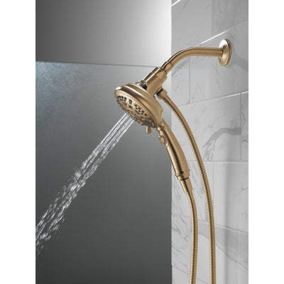 Delta Champagne Bronze Finish SureDock 7-Setting Shower Arm Mount Hand Sprayer D54710CZPK