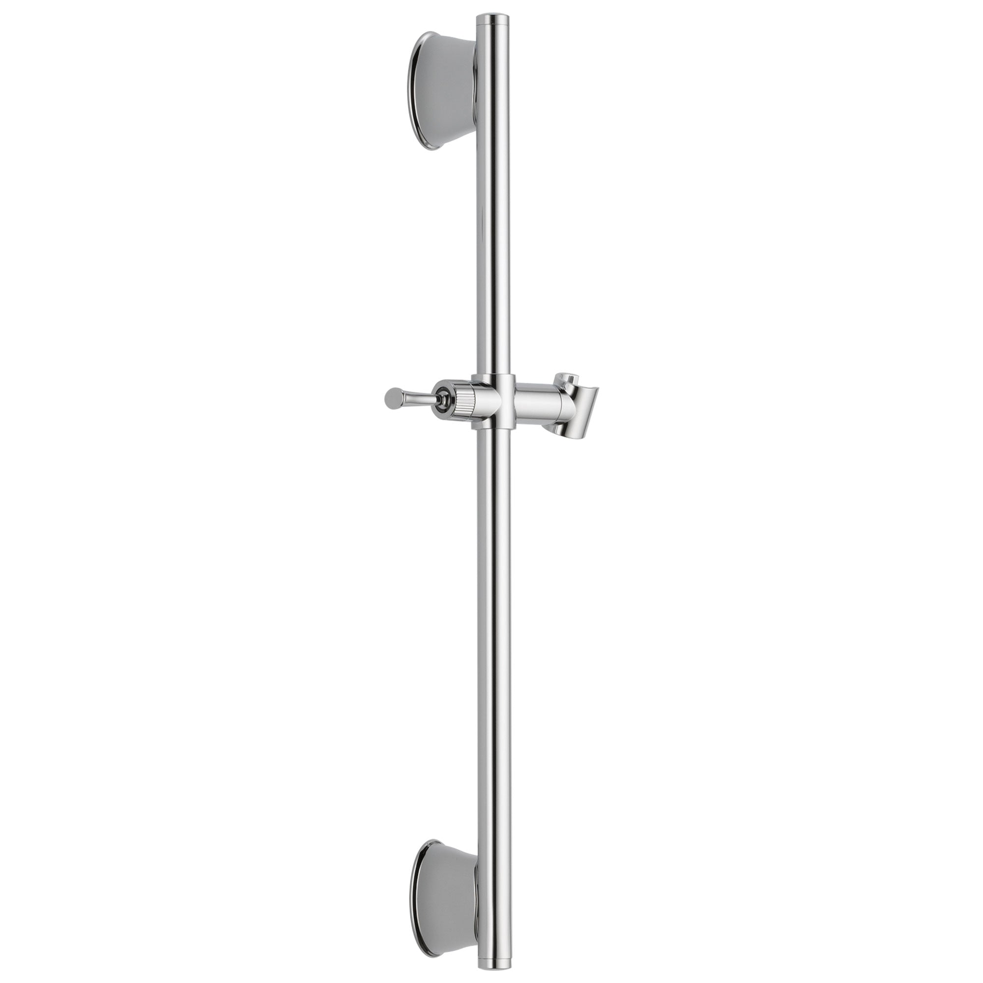 "Delta Universal Showering Components Collection Chrome Finish 24"" Adjustable Wall Mount Hand Shower Slide Bar D55044PK"