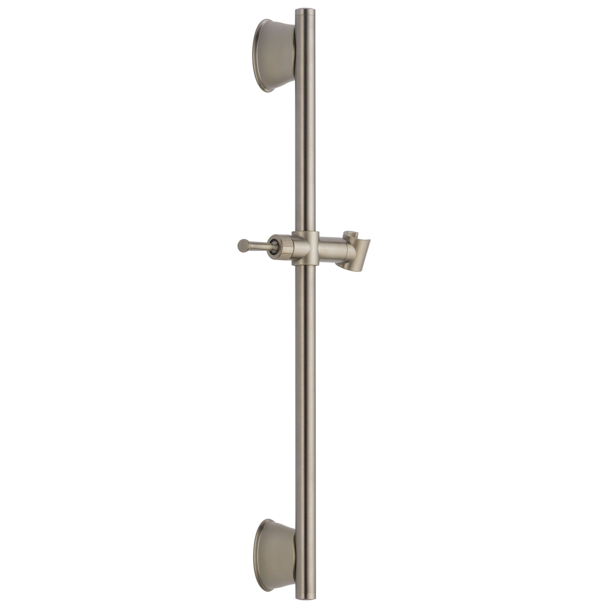 "Delta Universal Showering Components Collection Stainless Steel Finish 24"" Adjustable Wall Mount Hand Shower Slide Bar D55044SSPK"