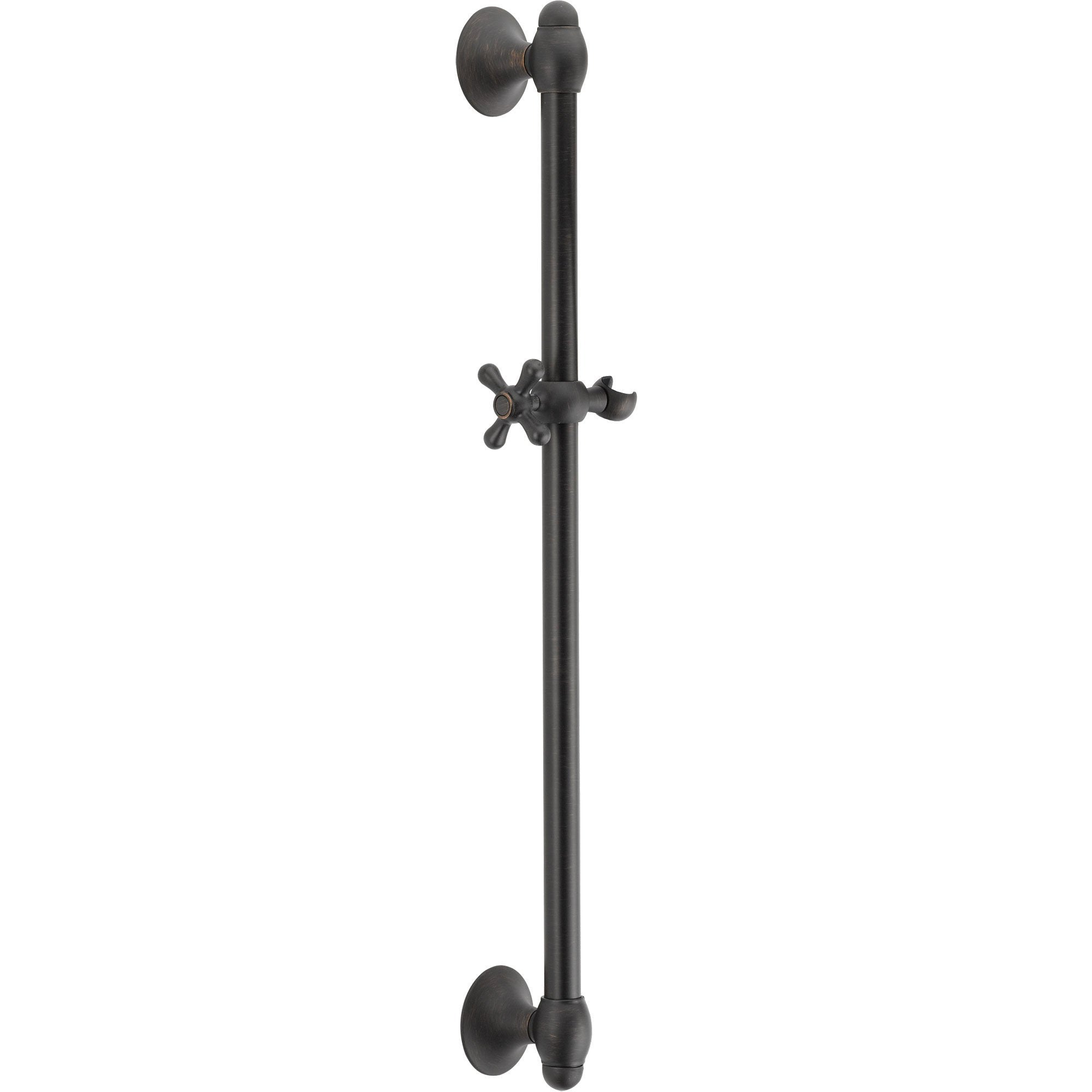 Delta 29 inch Adjustable Venetian Bronze Handheld Shower Wall Slide Bar 561196