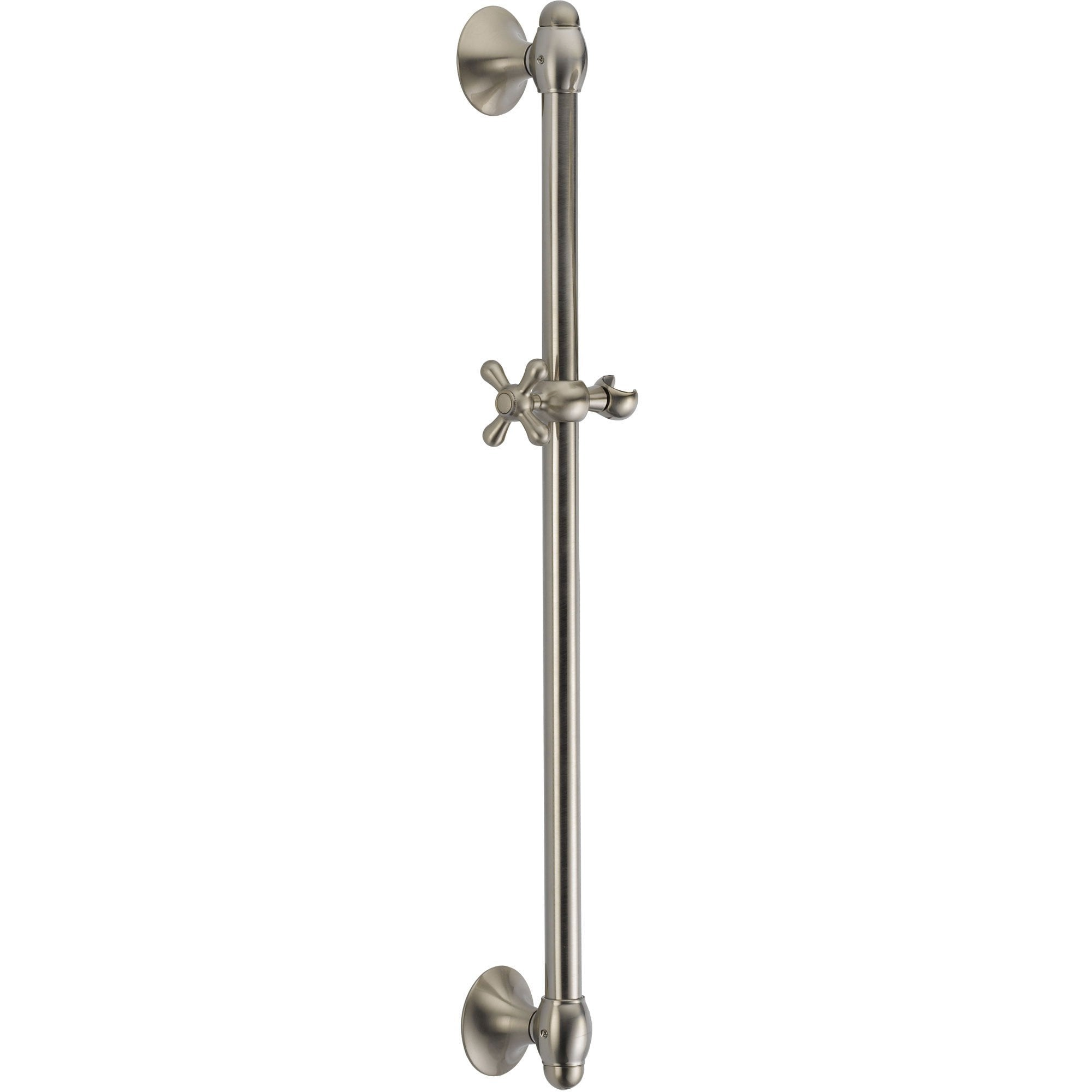 Delta 29 inch Stainless Steel Finish Handheld Shower Wall Slide Bar 561198
