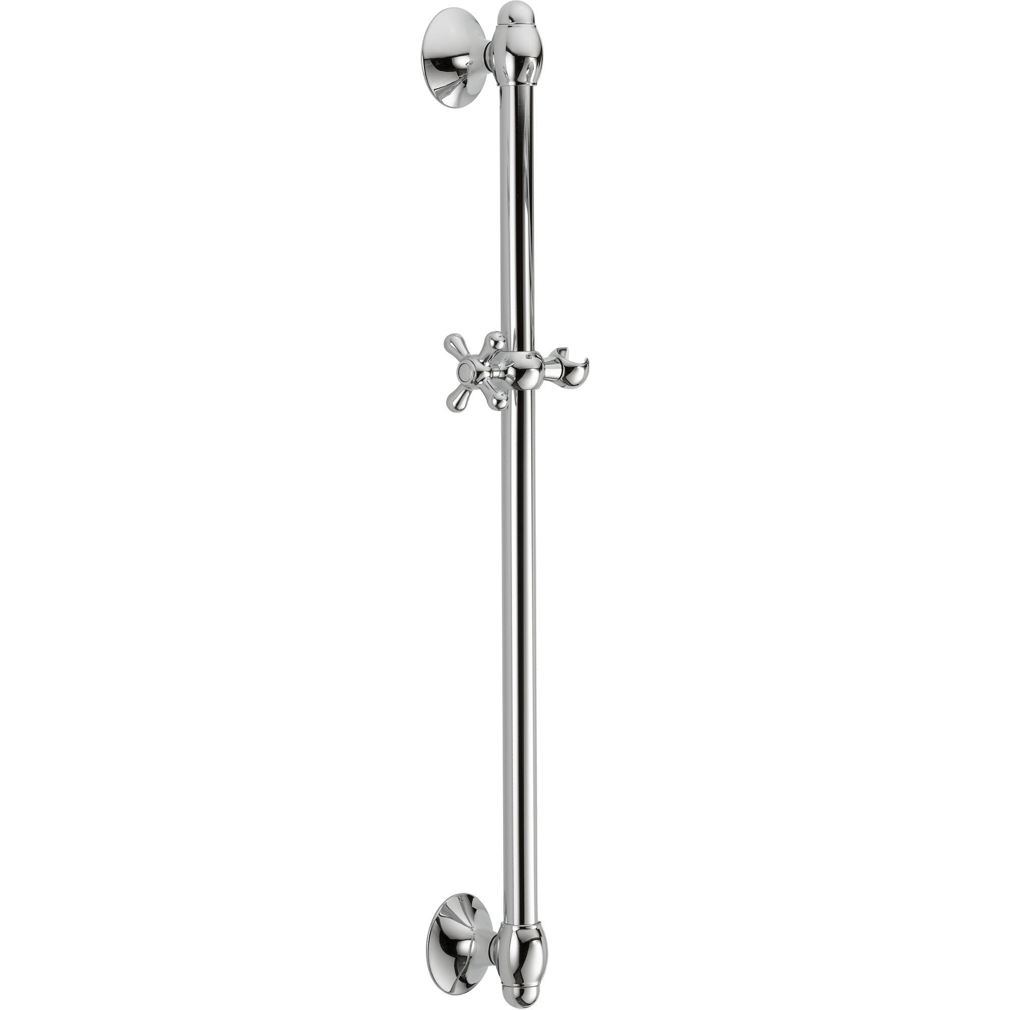 Delta 29 inch Adjustable Wall Mount Slide Bar for Hand Shower in Chrome 561067