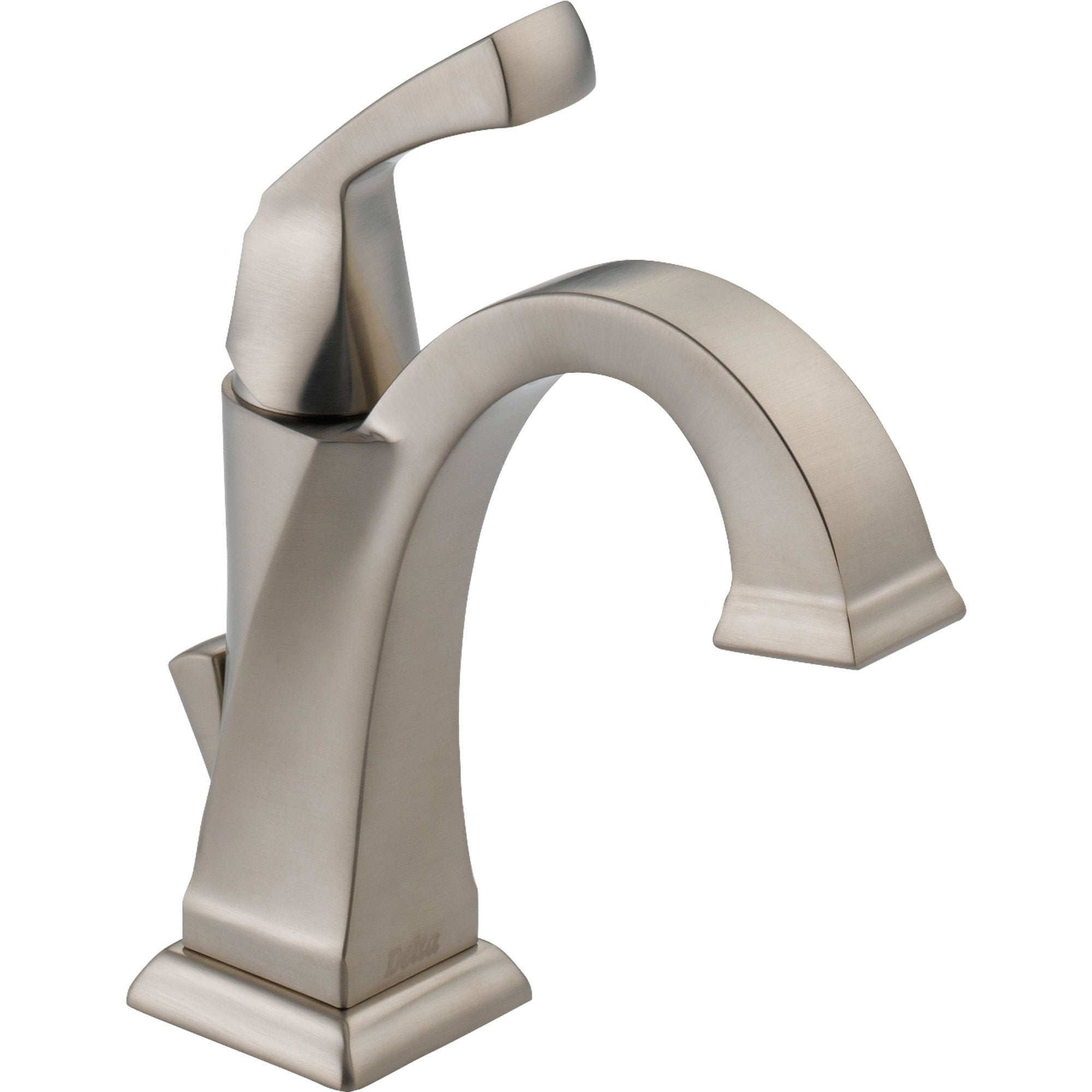 Delta Dryden Stainless Steel Finish Single-Hole 1-Handle Bathroom Faucet 495408