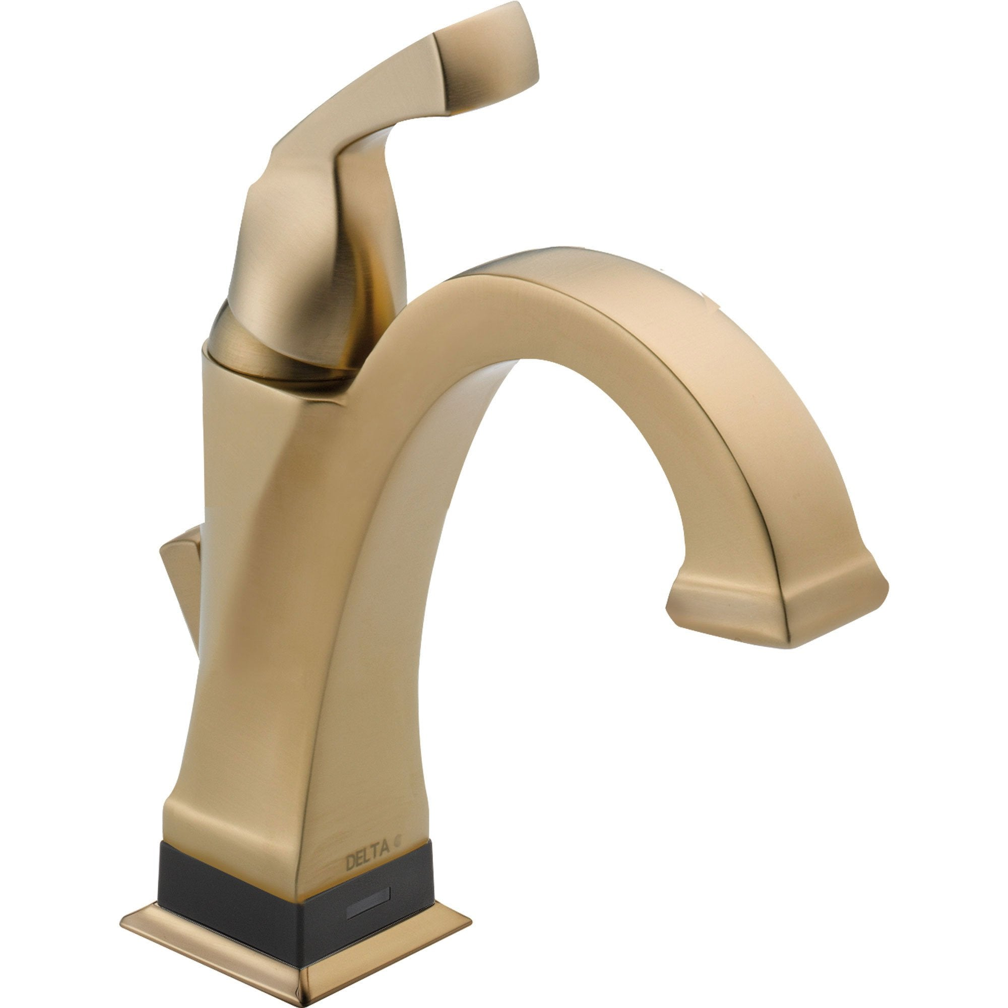 Delta Dryden Single Handle Electronic Champagne Bronze Bathroom Faucet 634094