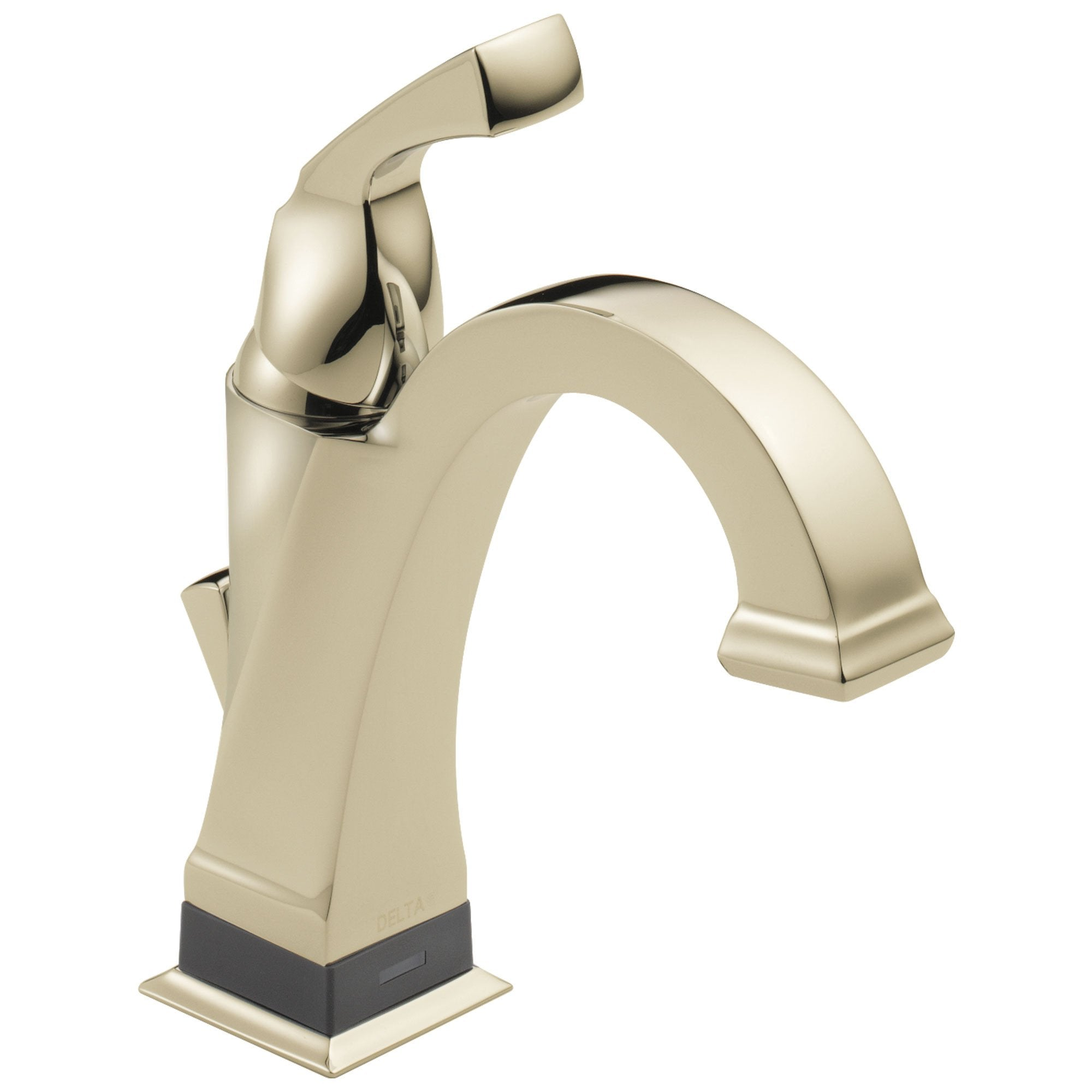 Delta Dryden Collection Polished Nickel Finish Electronic Single Handle Bathroom Sink Faucet with Touch2Oxt Technology 731007