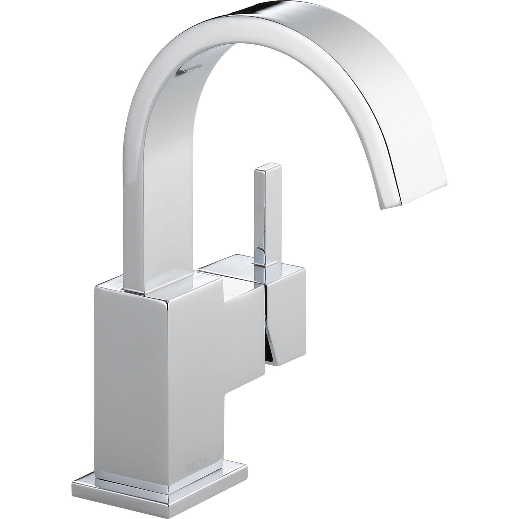 Delta Vero Single-Hole 1-Handle Modern Chrome High Arc Bathroom Faucet 521788