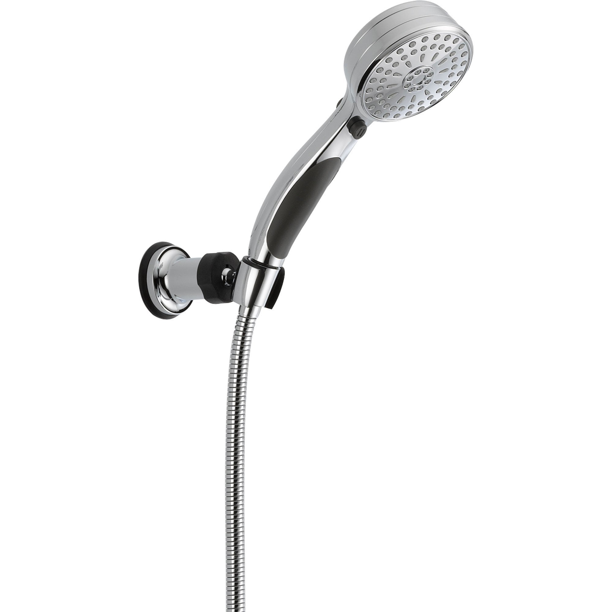 Delta 9 Spray Activtouch Chrome Handheld Shower Head W Wall Bracket 561068