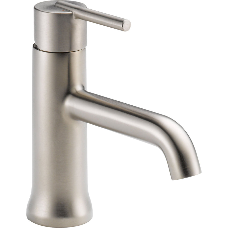 delta trinsic collection delta trinsic kitchen faucet Delta Trinsic Single Hole 1 Handle Stainless Steel Finish Bathroom Faucet