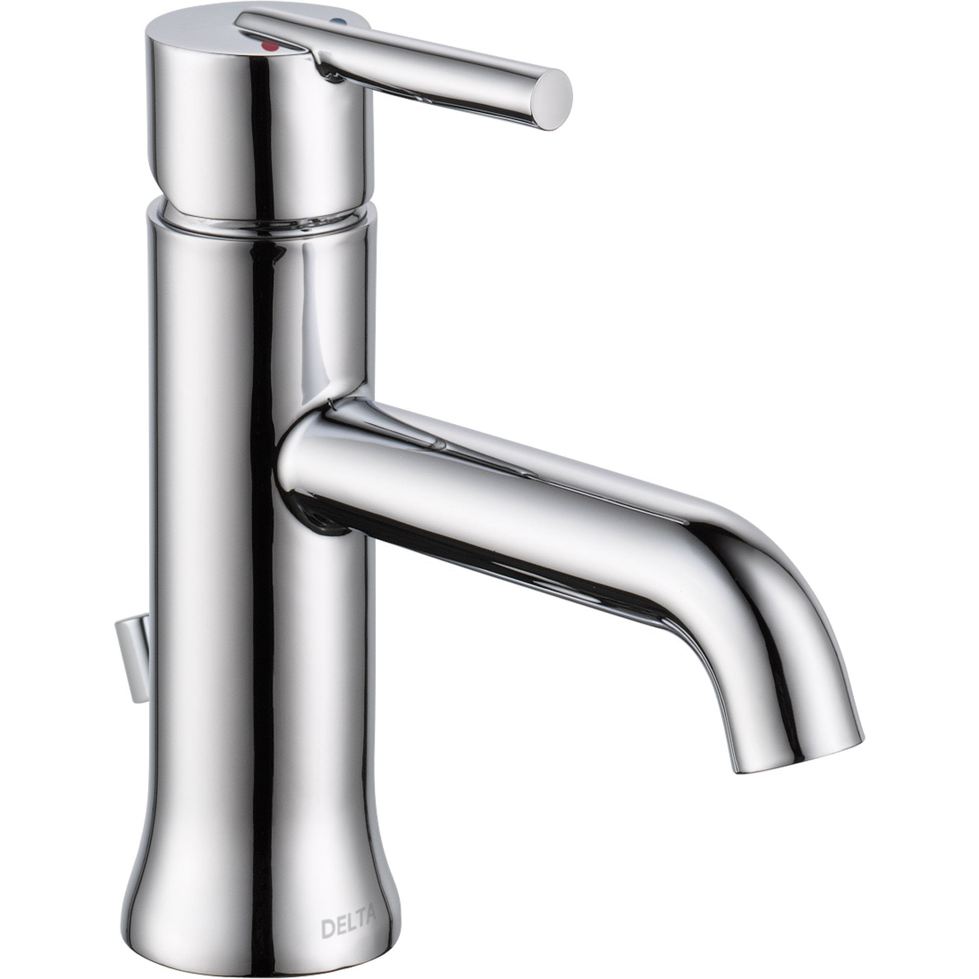 Delta Trinsic Single Hole 1-Handle Chrome Modern Bathroom Faucet 614935