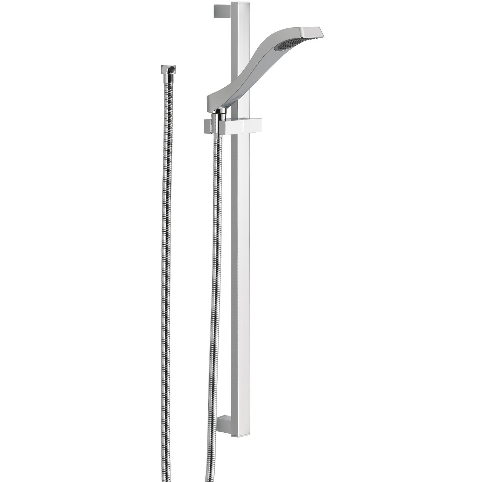 Delta Dryden Modern Wall Mount Slide Bar With Handheld Shower Head 527717