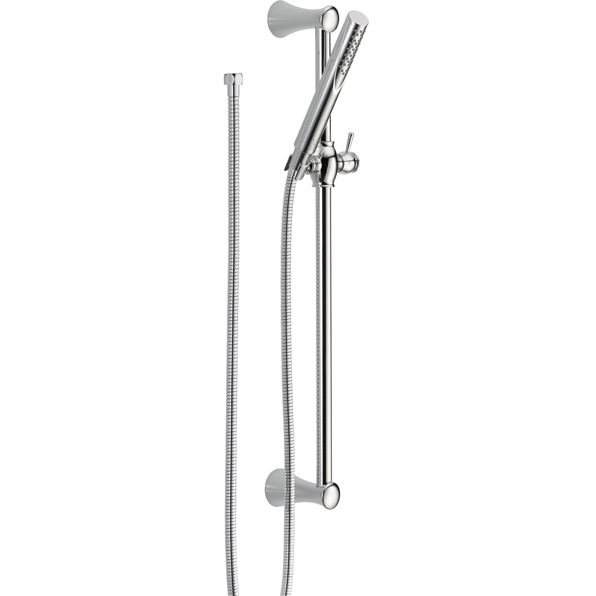 Delta Trinsic Modern Wall Mount Slide Bar With Handheld Shower Head 527718