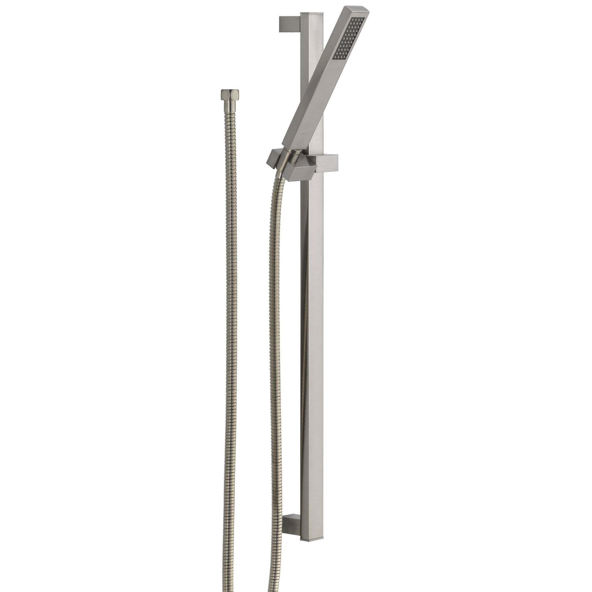 Delta Vero Modern Stainless Steel Finish Handheld Shower with Slide Bar 521881