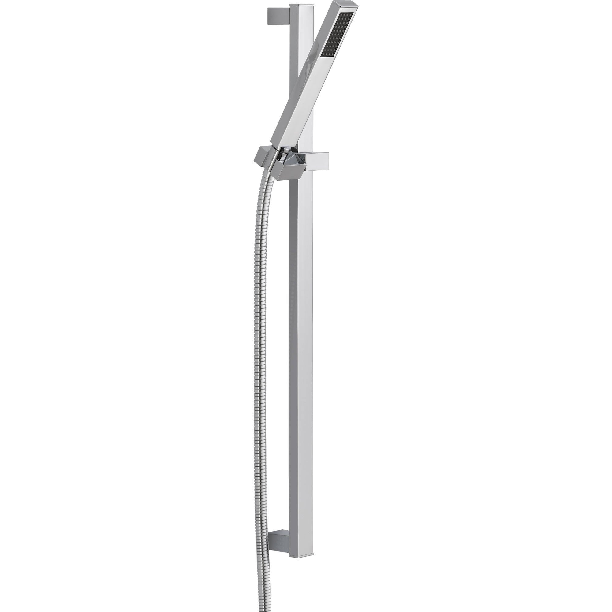 Delta Vero Modern Square Wall Mount Slide Bar With Handheld Shower