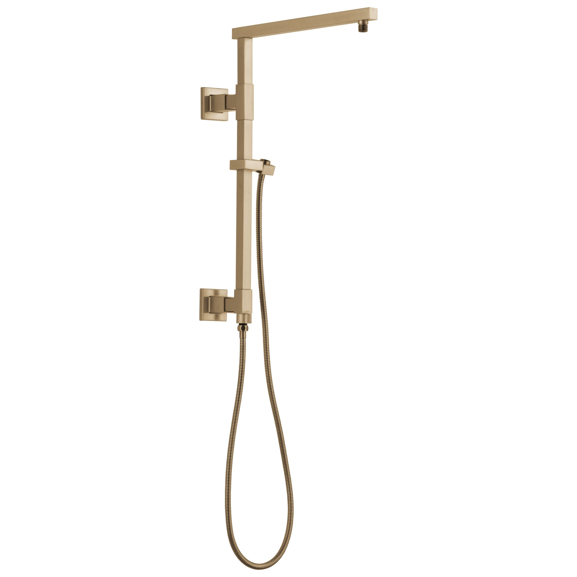 "Delta Champagne Bronze Finish Emerge Modern Angular Square Shower Column 18"" (Requires Showerhead, Hand Spray, and Control) D58410CZ"