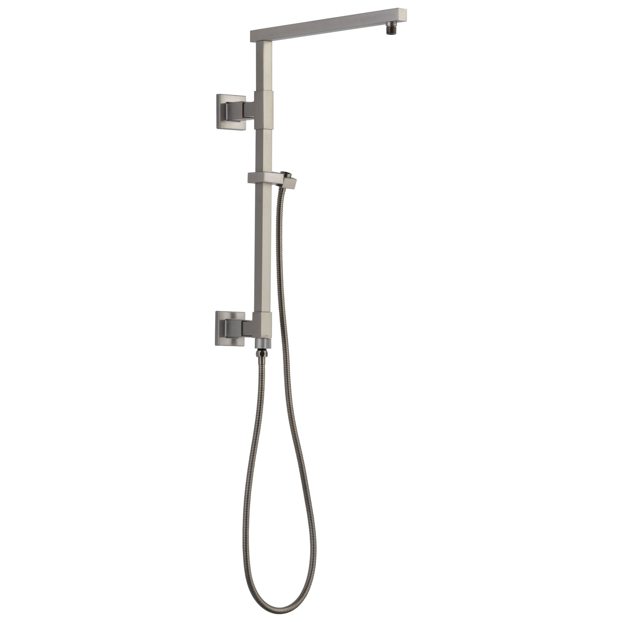 "Delta Stainless Steel Finish Emerge Modern Angular Square Shower Column 18"" (Requires Showerhead, Hand Spray, and Control) D58410SS"