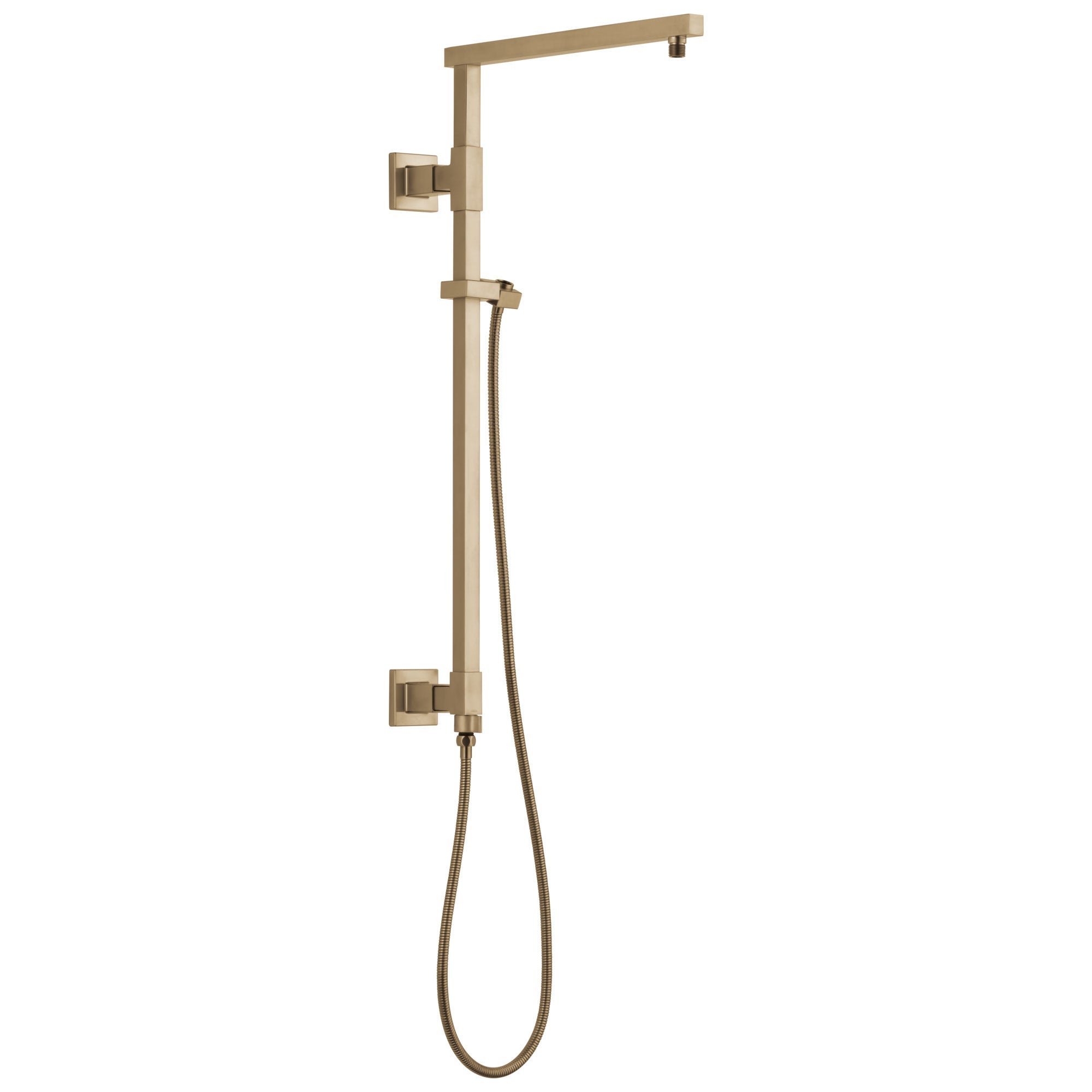 "Delta Champagne Bronze Finish Emerge Modern Angular Square Shower Column 26"" (Requires Showerhead, Hand Spray, and Control) D58420CZ"
