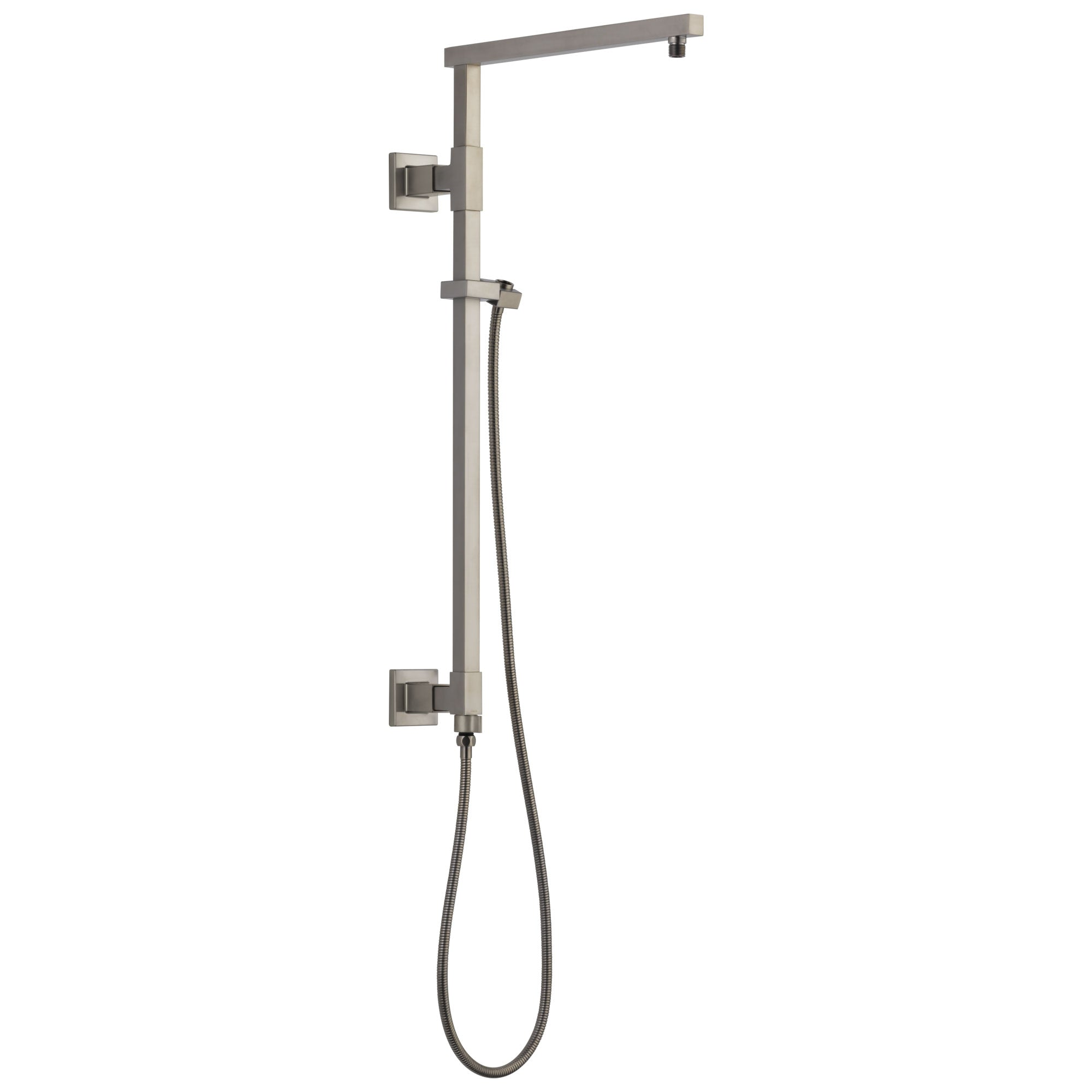 "Delta Stainless Steel Finish Emerge Modern Angular Square Shower Column 26"" (Requires Showerhead, Hand Spray, and Control) D58420SS"