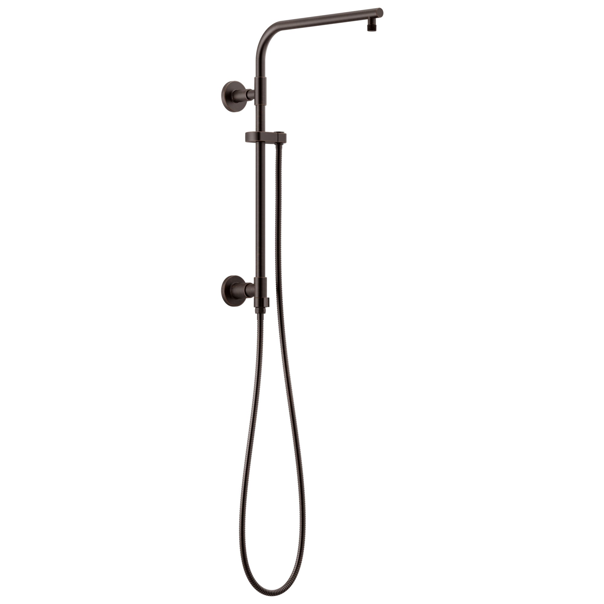 "Delta Venetian Bronze Finish Emerge Shower Column 18"" Round (Requires Showerhead, Hand Spray, and Control) D58810RB"