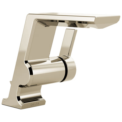 Delta Pivotal Polished Nickel Finish Single Handle Bathroom Faucet D599PNMPUDST