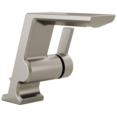 Delta Pivotal Stainless Steel Finish Single Handle Bathroom Faucet D599SSMPUDST