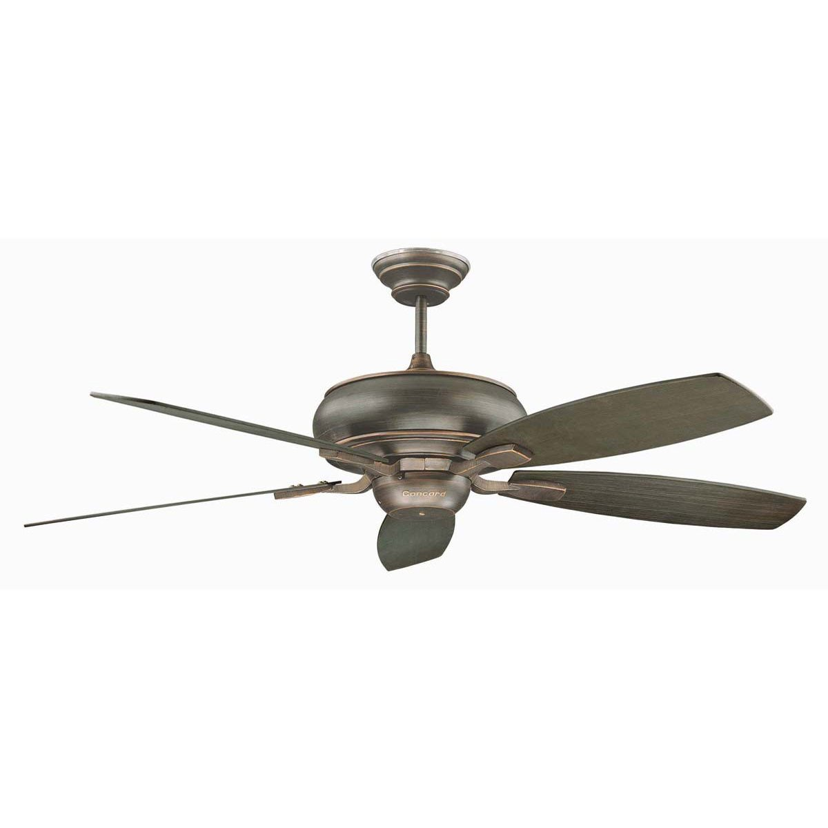 "Concord Fans Contemporary 60"" Roosevelt Oil Rubbed Bronze Large Ceiling Fan"