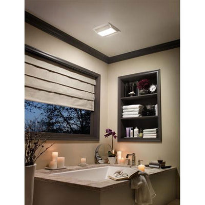 Nutone QTREN110FLT Energy Star Ceiling Mount Bath Ventilation Fan with Light