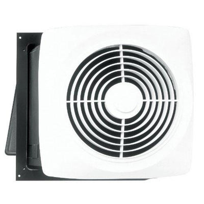Broan 12C White Motordor High Power 360 CFM Through Wall Utility Ventilator Fan