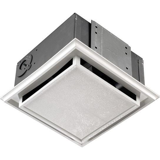 Broan 682 Duct-Free Ventilation Fan with Easy to Replace Charcoal Filter, White