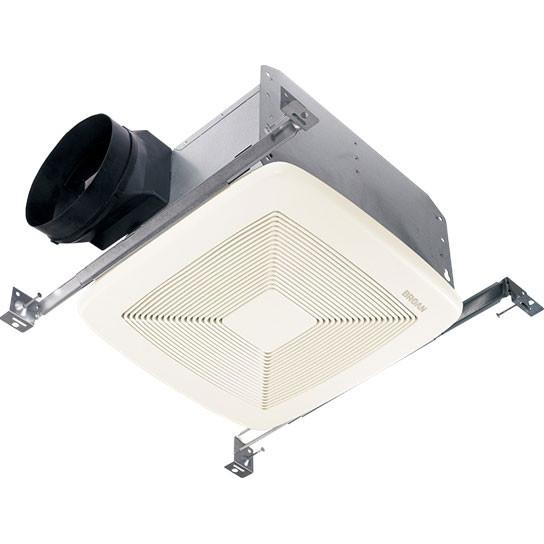 Broan QTXE150 Energy Star Powerful 150 CFM Quiet 1.4 Sones Bath Exhaust Vent Fan