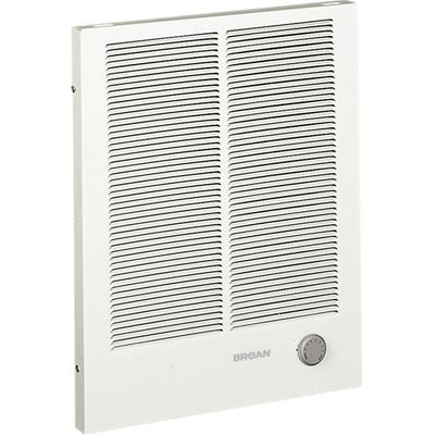 Broan 194 White Finish Heavy Duty Rectangular Wall Heater 1500/3000 Watt 240 VAC