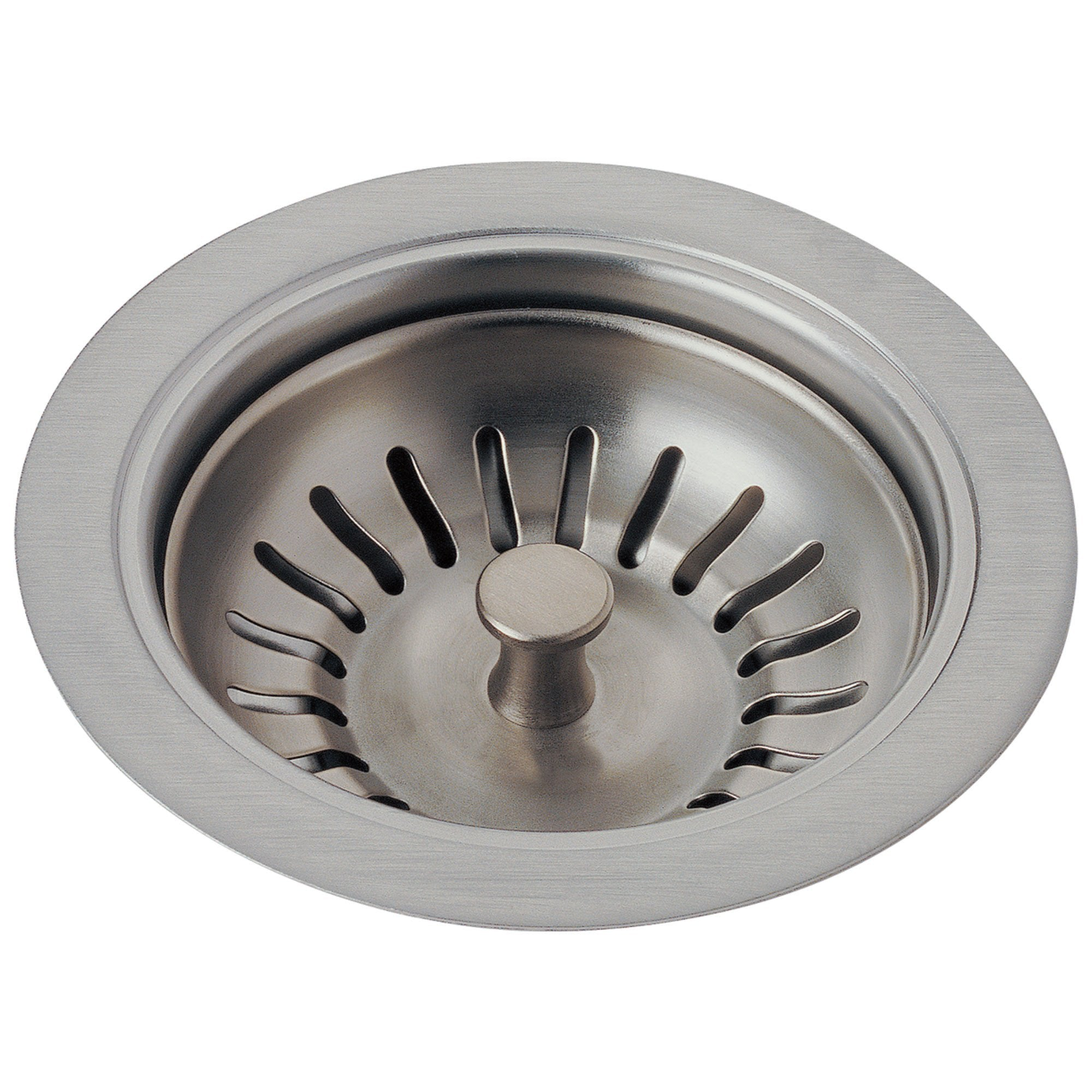 Delta Stainless Steel Finish Kitchen Sink Flange and Basket Strainer D72010SS
