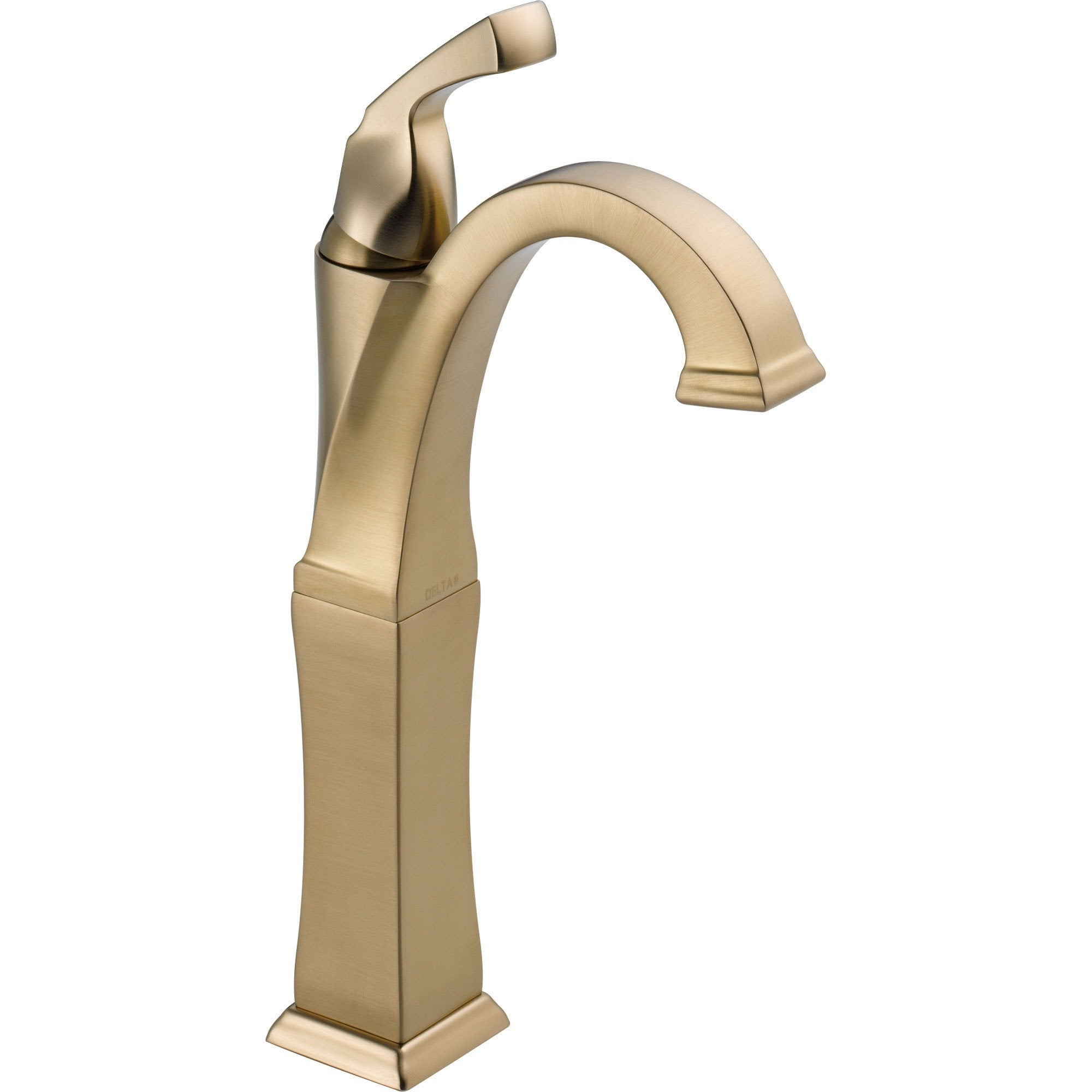 Delta Dryden Single Handle Champagne Bronze Vessel Sink Bathroom Faucet 563258