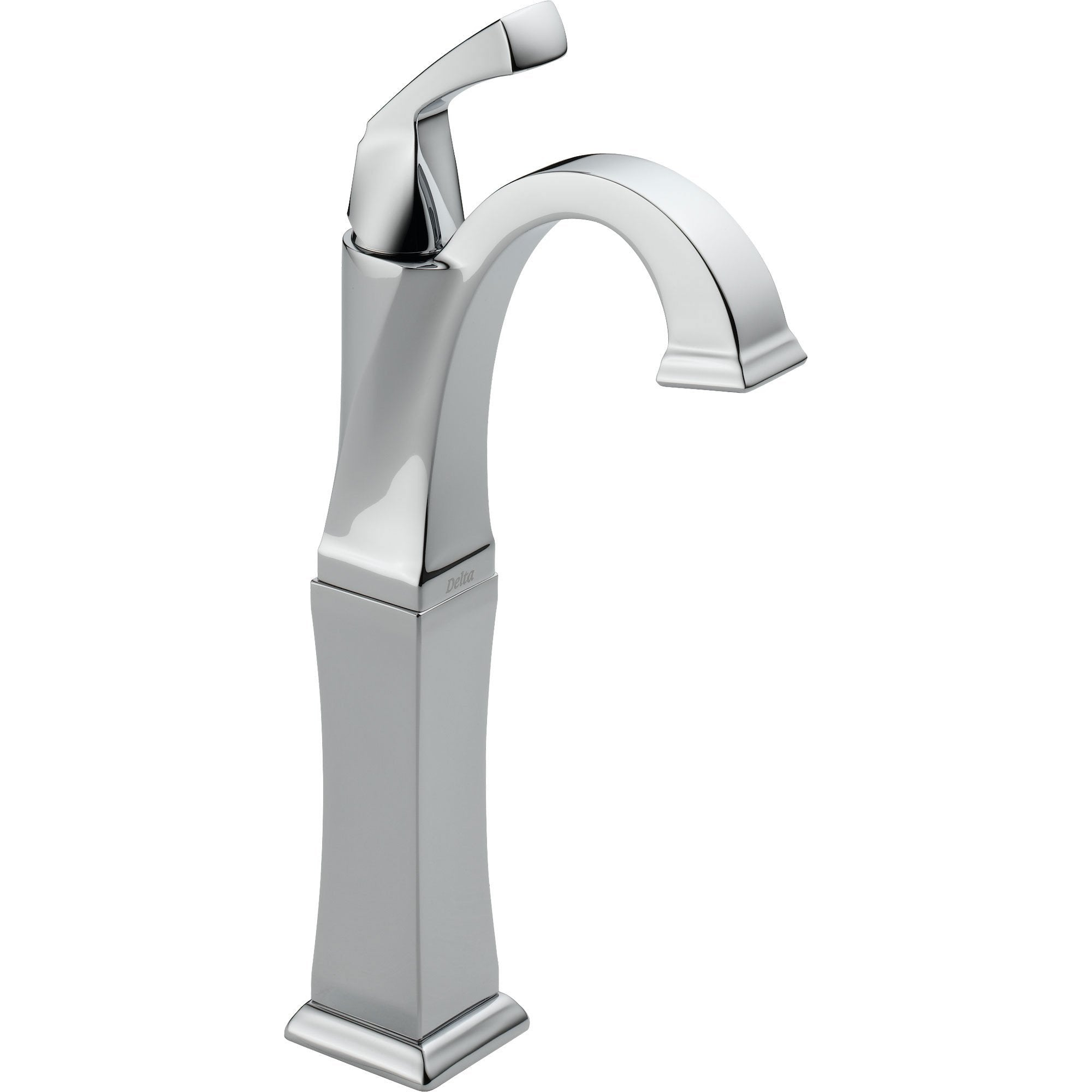 Delta Dryden Single Handle Chrome Finish Tall Vessel Sink Bathroom Faucet 495516