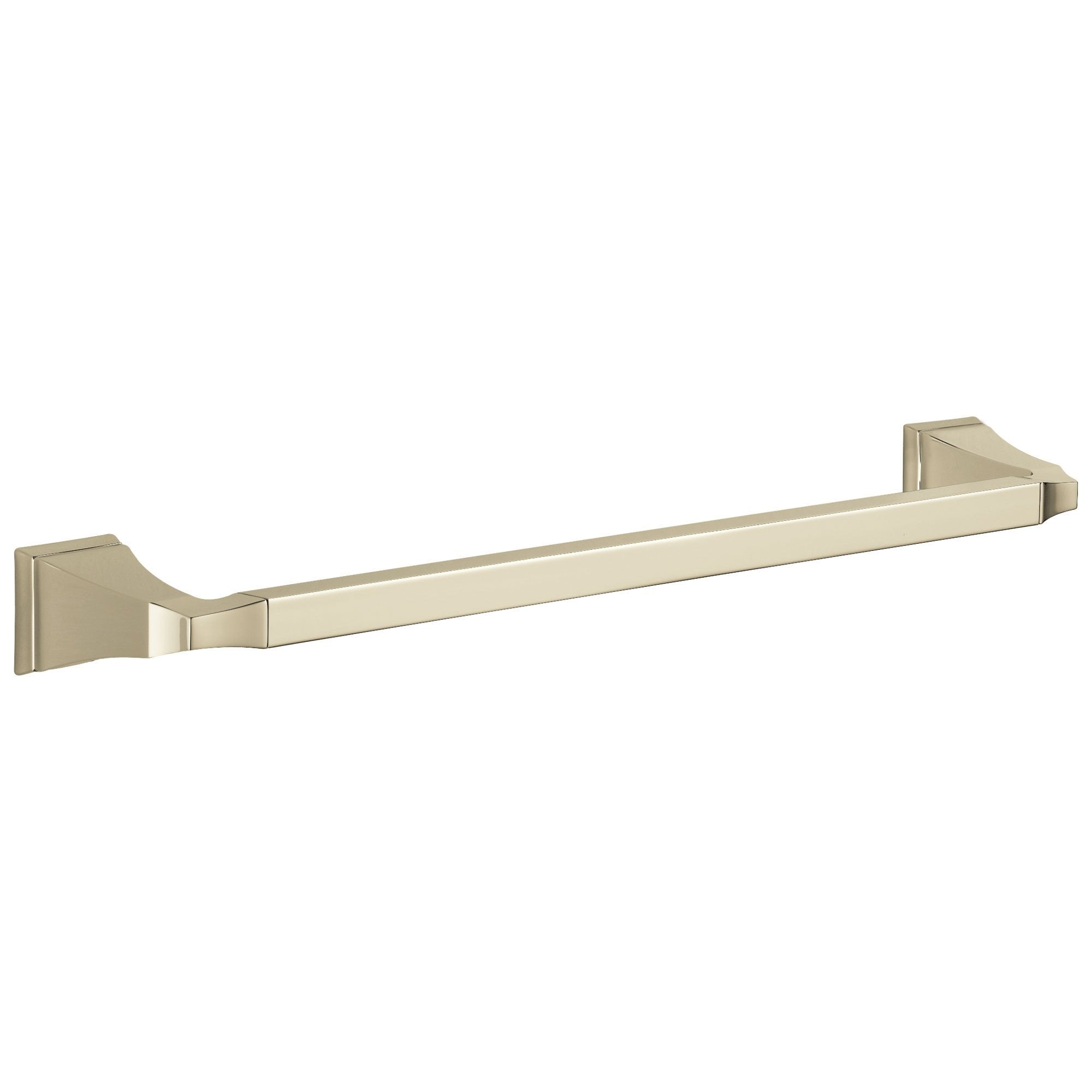 "Delta Dryden Collection Polished Nickel Finish 18"" Single Towel Bar D75118PN"