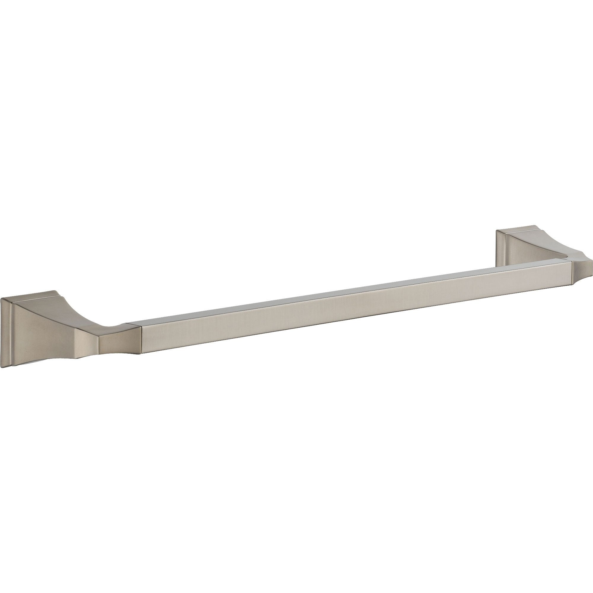 Delta Dryden Stainless Steel Finish 18 inch Modern Single Towel Bar 454993