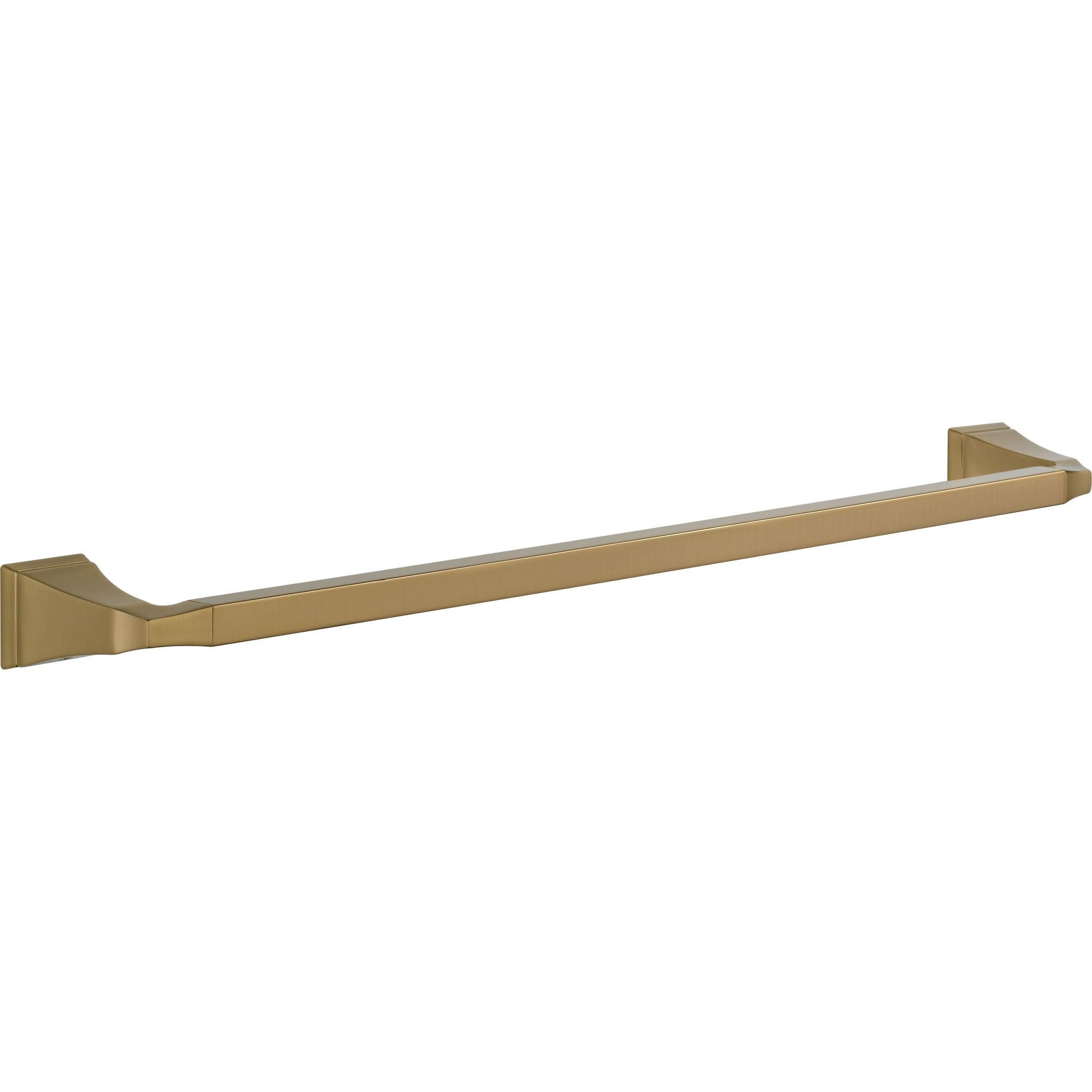 Delta Dryden Champagne Bronze Finish 24 inch Modern Single Towel Bar 567279
