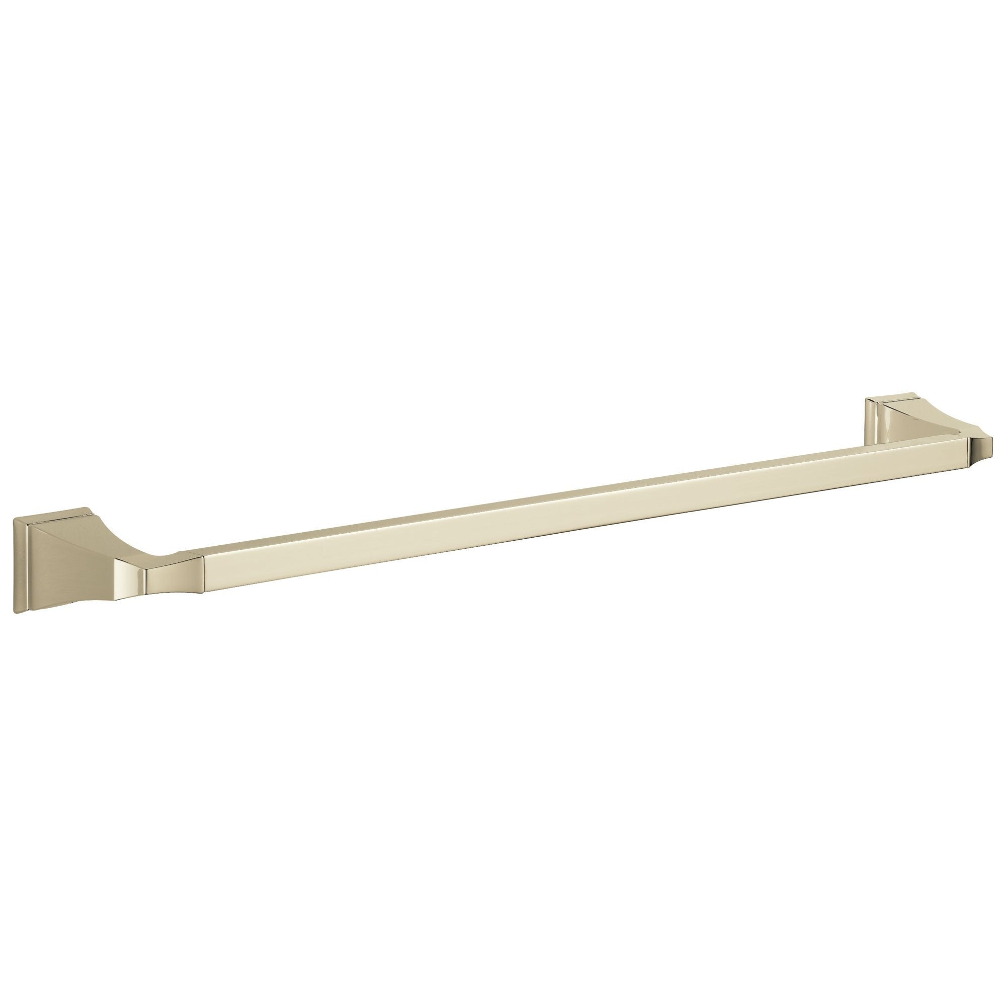"Delta Dryden Collection Polished Nickel Finish 24"" Single Towel Bar D75124PN"