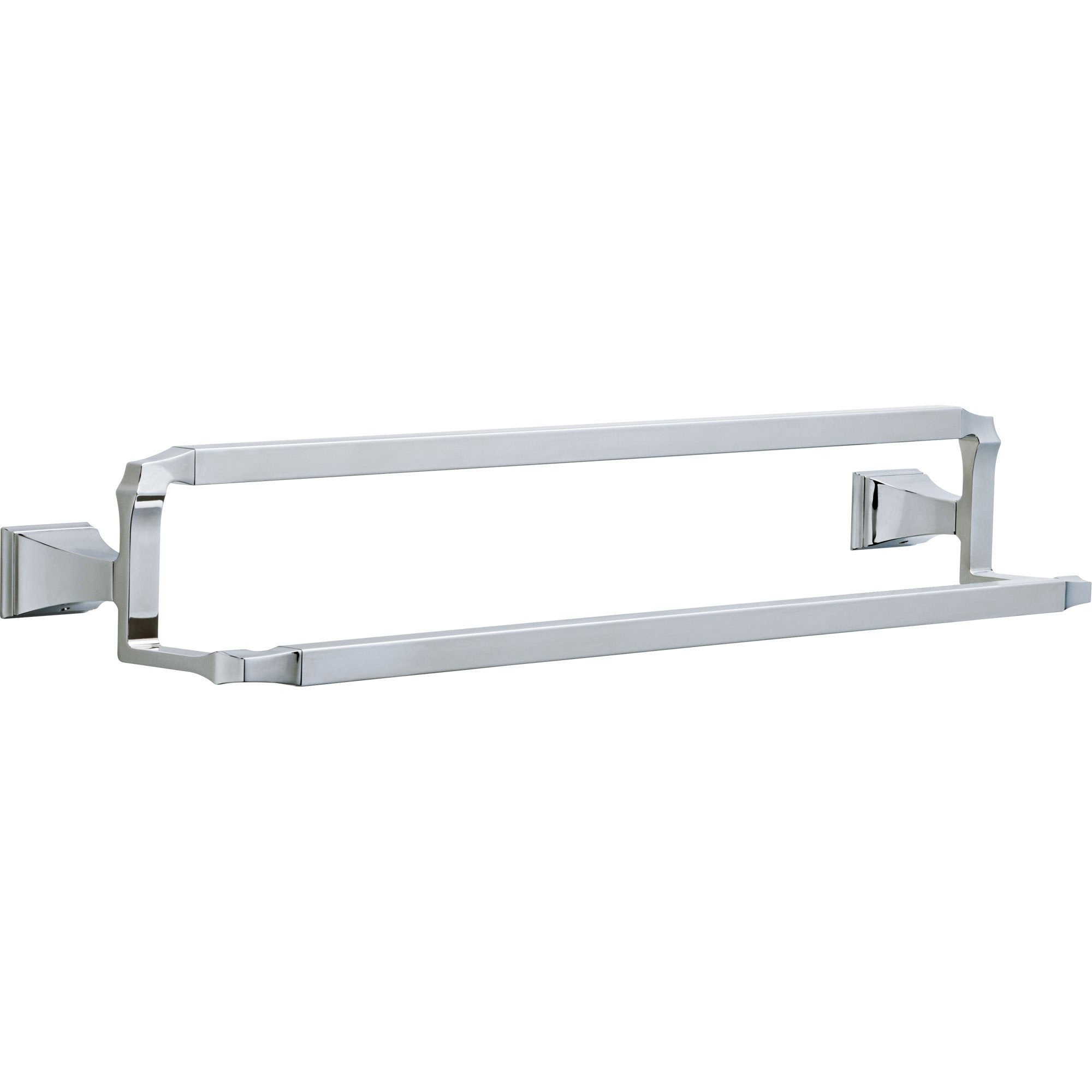 Delta Dryden Modern Chrome 24 inch Double Towel Bar 637080