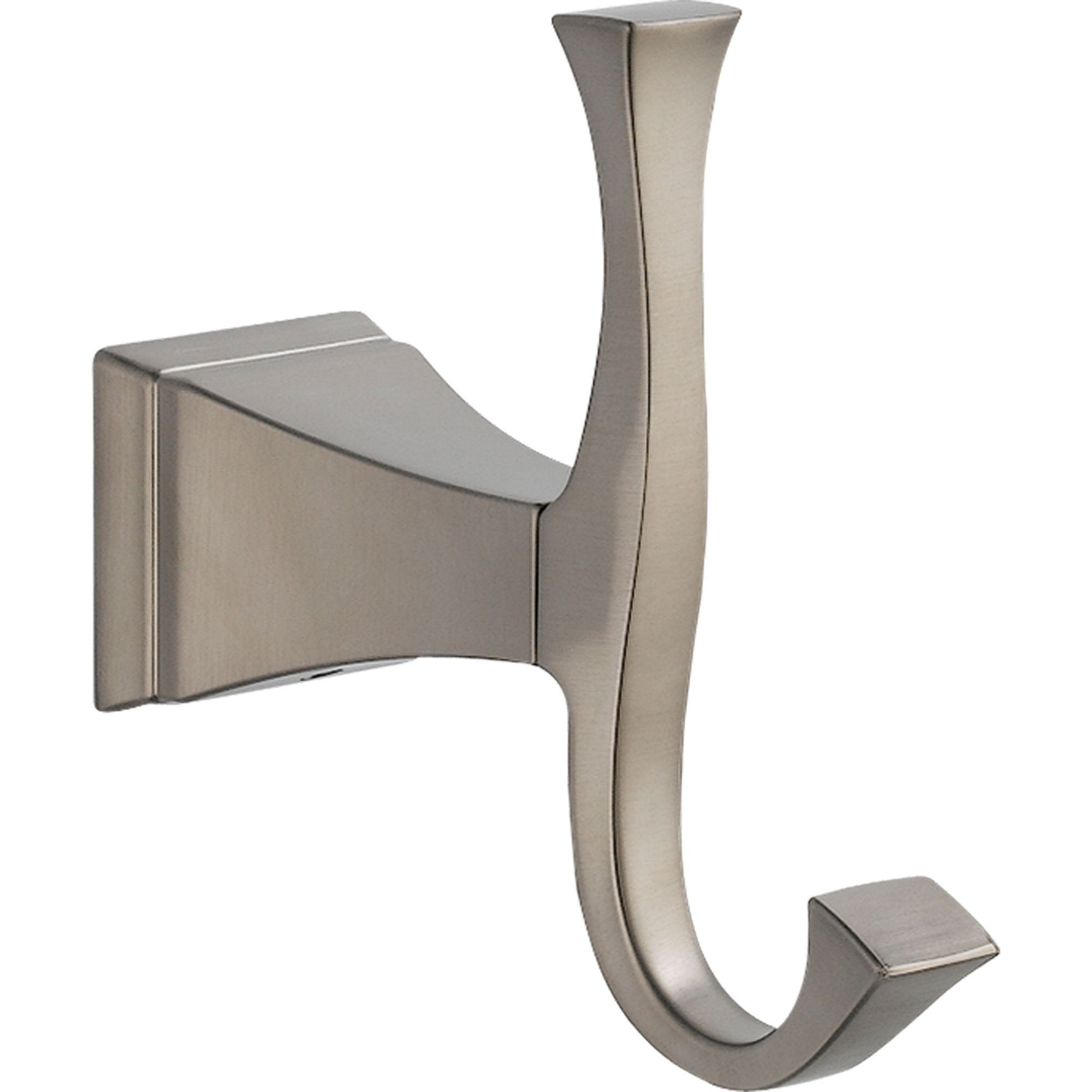 Delta Dryden Stainless Steel Finish Modern Single Robe Hook 455029