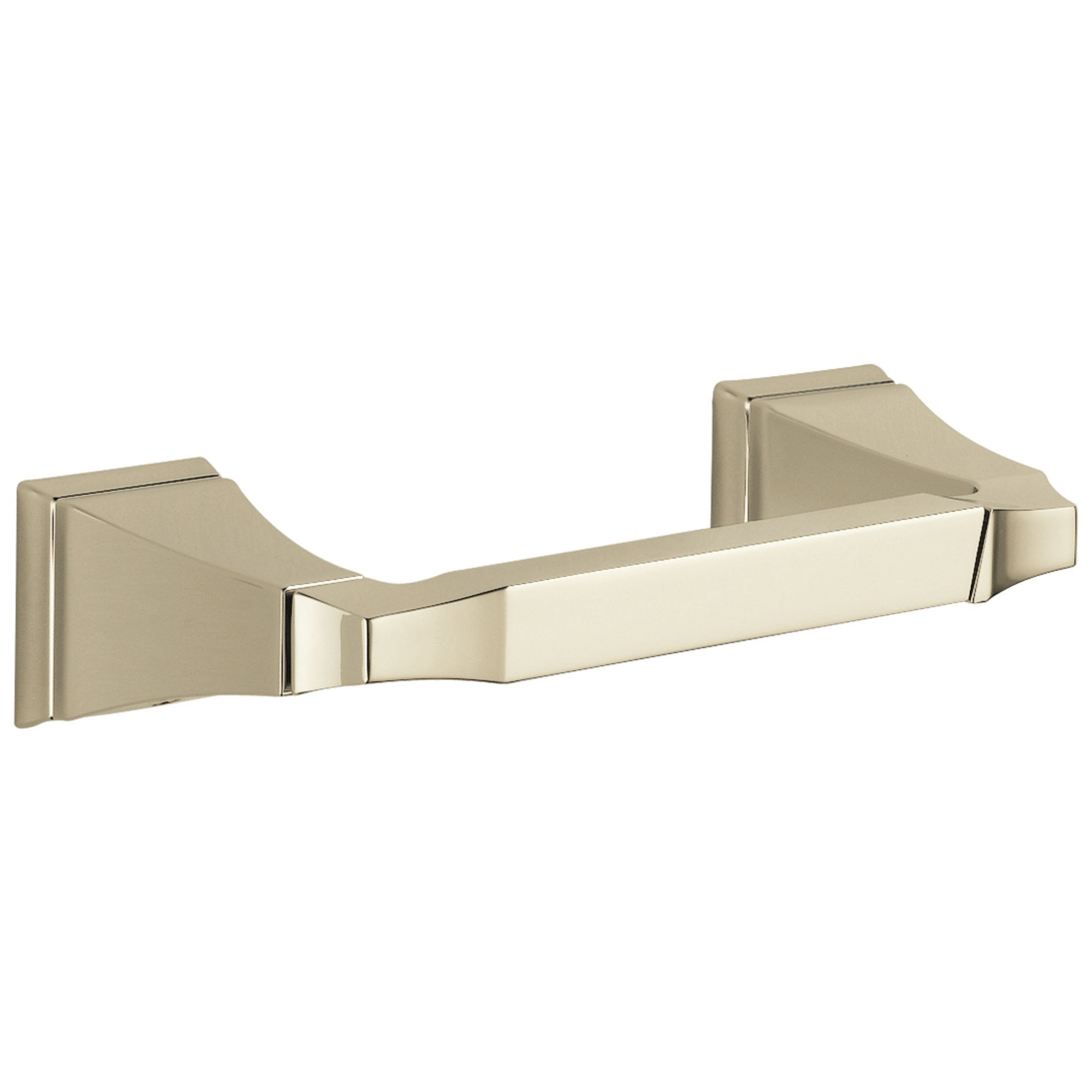 Delta Dryden Collection Polished Nickel Finish Double Post Toilet Tissue Paper Holder D75150PN