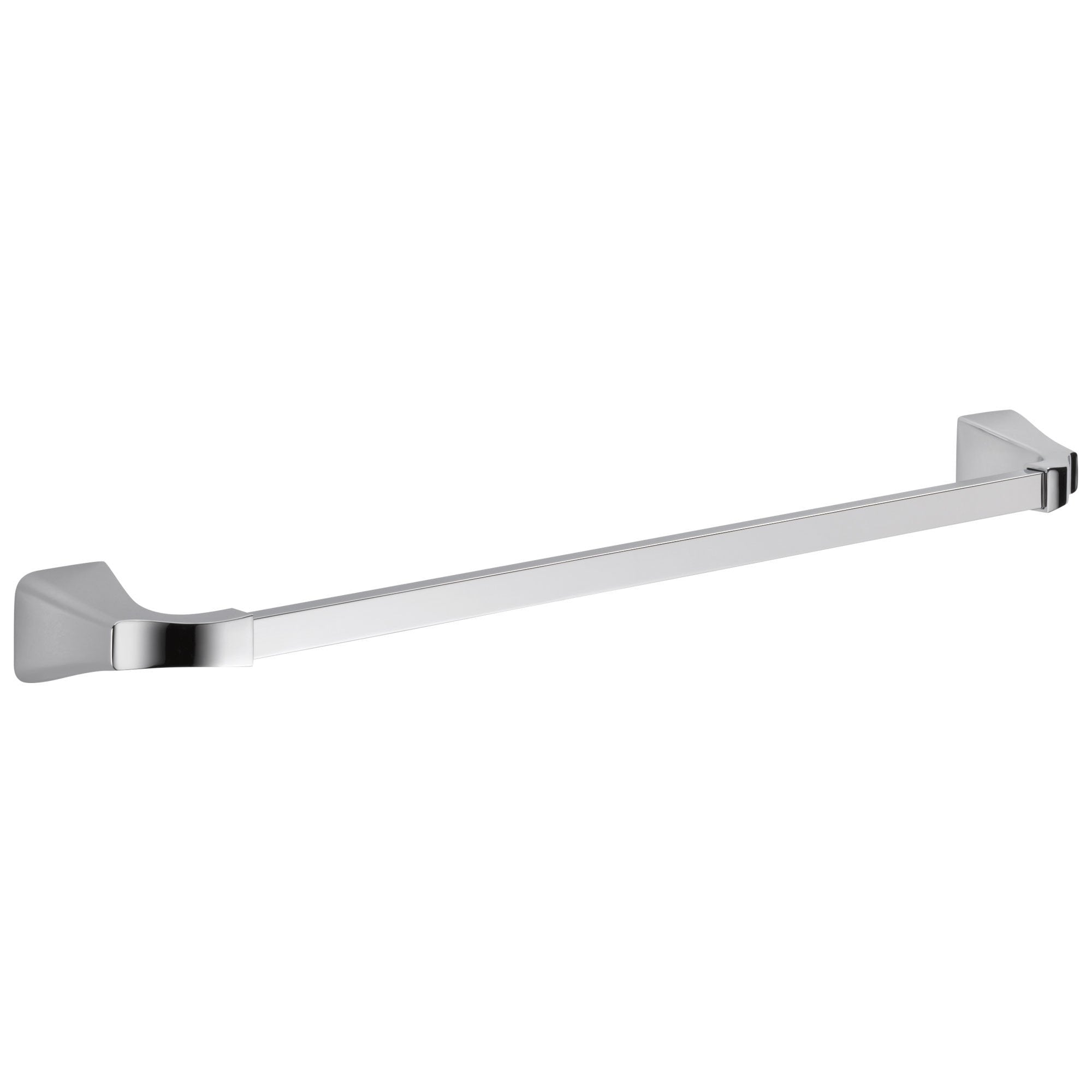 "Delta Tesla Collection Chrome Finish Modern Wall Mounted 24"" Single Towel Bar 714269"